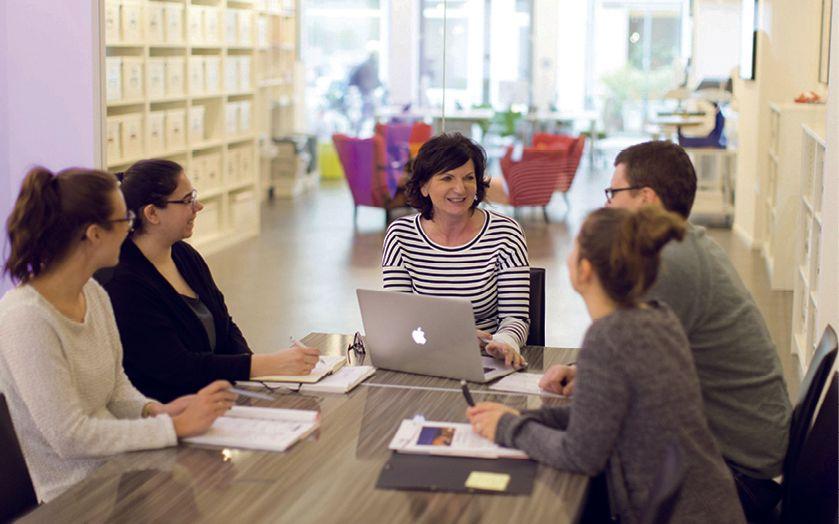 Tägliche Meetings für einzigartige Ideen