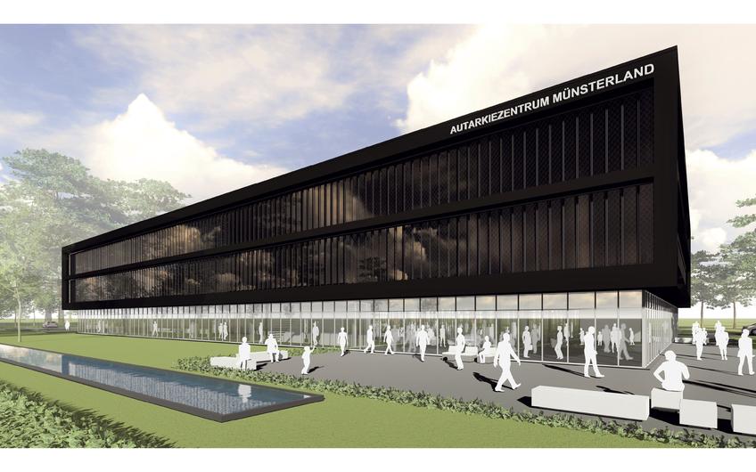 Mit dem Autarkiezentrum Münsterland realisiert B&W Energy am Standort Heiden ein zukunftsweisendes Projekt und schafft neben dem eigenen neuen Firmensitz auch Raum für andere Betriebe