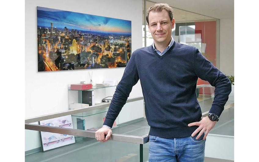 Geschäftsführer Tim Stebani
