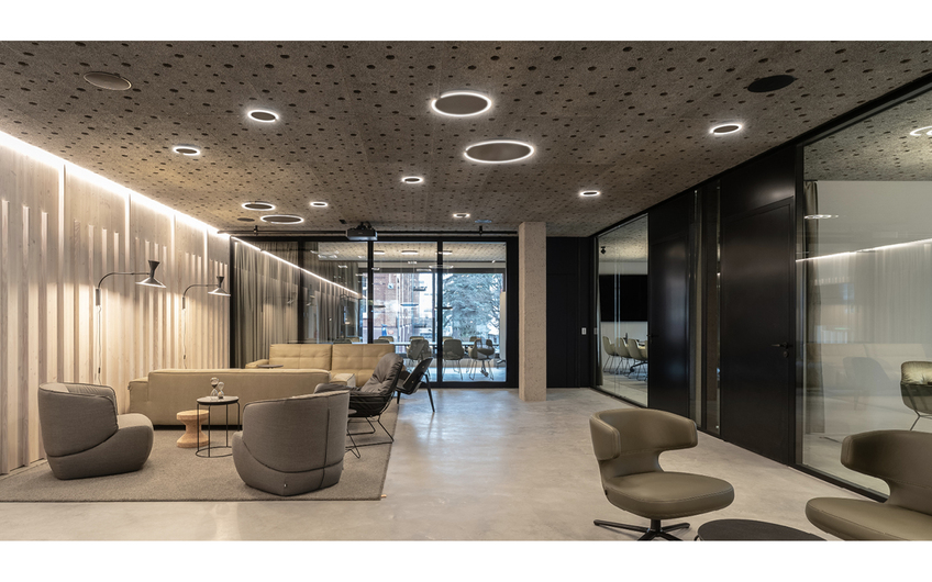 Lui House, Lounge EG / Konferenz- und Veranstaltungsbereich