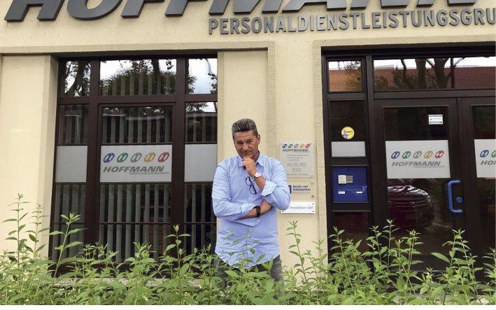 Martin Sprünken, Geschäftsführer der Hoffmann Personaldienstleistungsgruppe