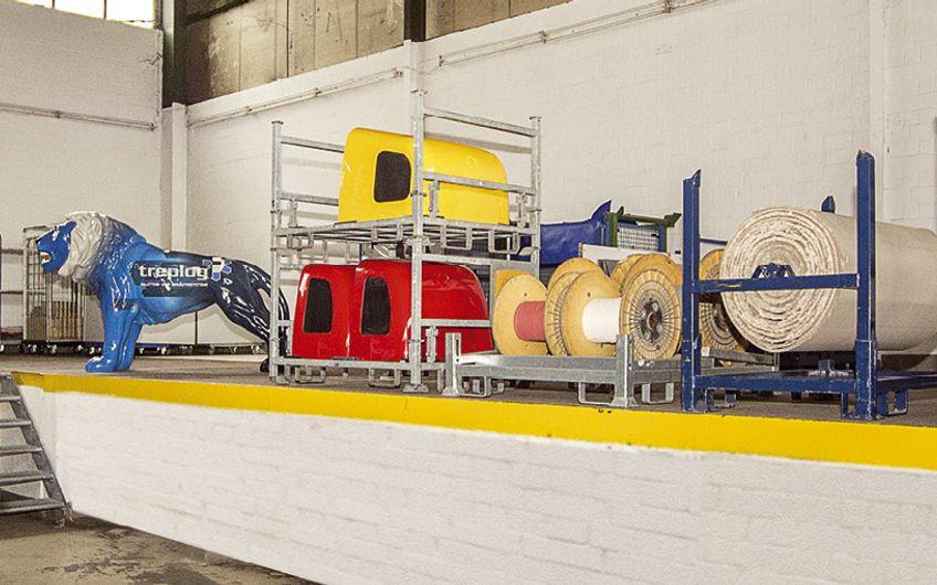 Die treplog GmbH konzipiert und baut Sonderladungsträger aller Art