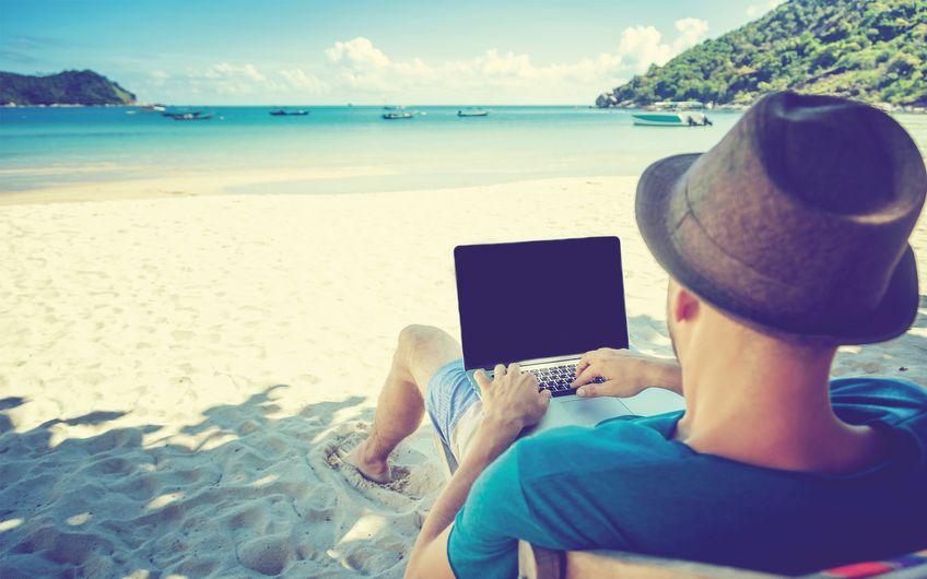 Arbeiten im Urlaub: Ständig erreichbar?