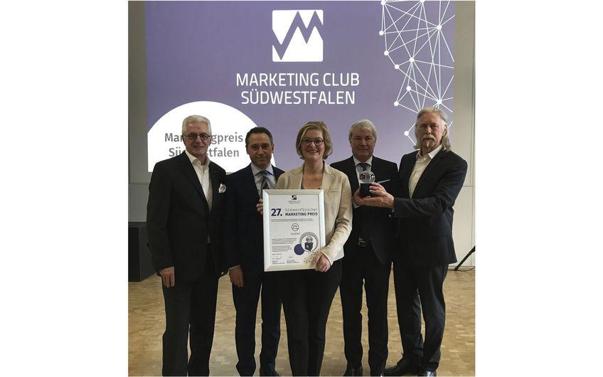 burgbad: burgbad erhält  Südwestfälischen Marketing Preis