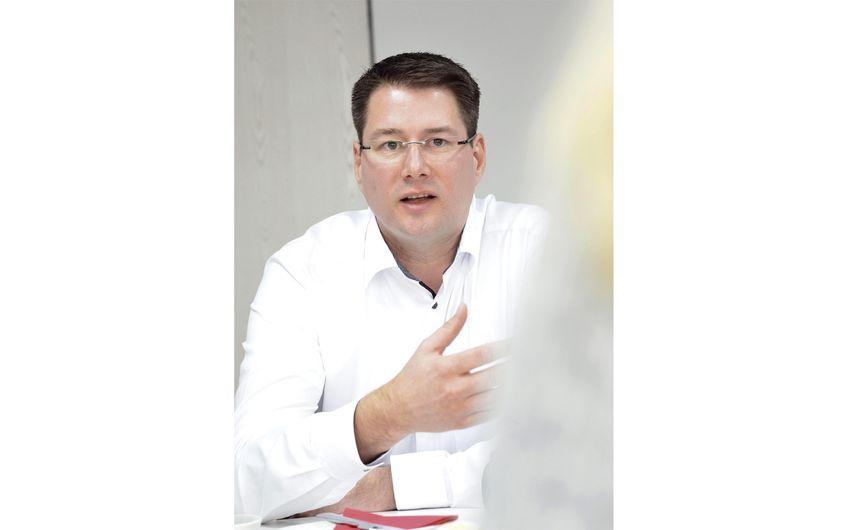 Sascha Pieper, Geschäftsführer für IT und Finanzen