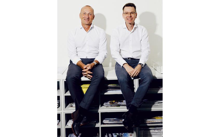 Heinz-Georg Guth und Thomas Höxtermann, die Inhaber. (Foto: ©Julia Sellmann)