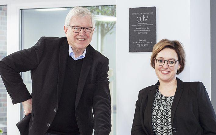 Die Geschäftsführer Heinrich und Kerstin Tepasse