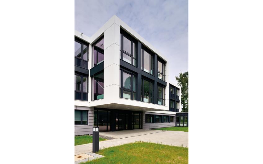 Modulgebäude aus  der Raumfabrik