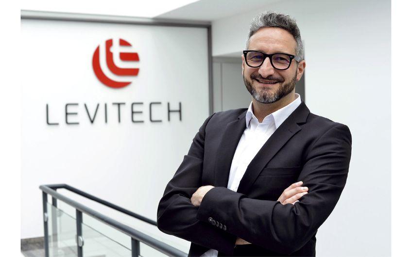 Fabio Pastars, Geschäftsführer der LEVITECH GmbH in Viersen (Foto: Axel Thomae)