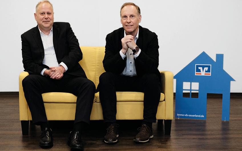 Peter Baum und Dirk Schröter (v. l.)