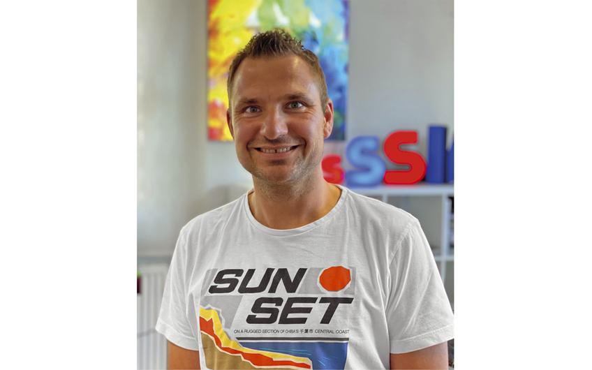 Geschäftsführer Rafael Wieczorek