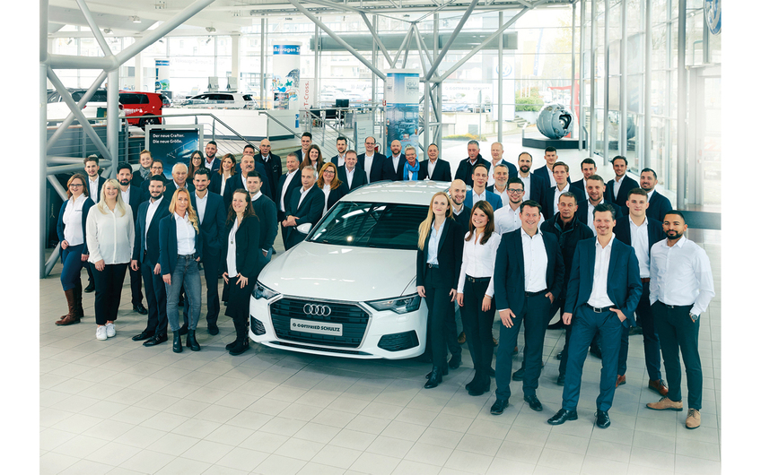 Das Team der Gottfried Schultz Großkunden-Leistungszentren