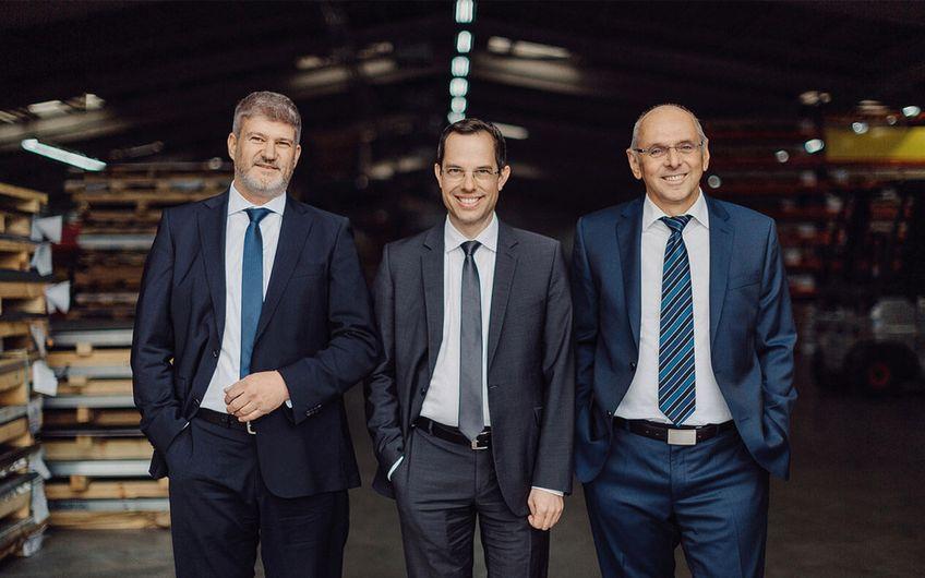 Der Centrotec-Vorstand besteht aus Bernhard Pawlik, Dr. Thomas Kneip und Günther Wühr (v.l.) (Foto: Centrotec)