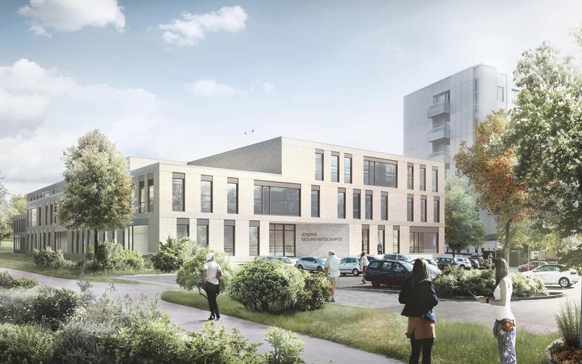 Gesundheitszentrum Warendorf, Baubeginn 06/2021