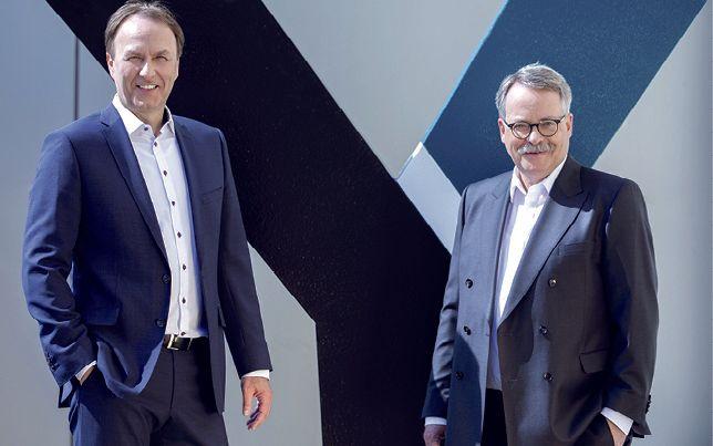 Die YNCORIS-Geschäftsleitung:  Ralf Müller (Vorsitz) und Dr. Clemens Mittelviefhaus