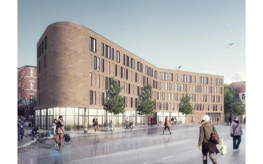 Intercity Hotel mit 176 DZ, Lübeck, Baubeginn 05/2021