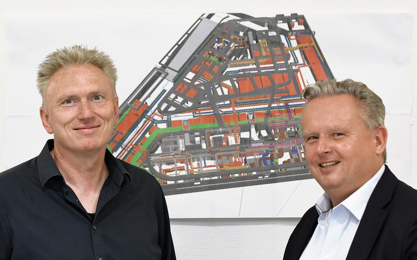 Heinrich Steeenheuer und Ralf Dohrmann (v.l.)