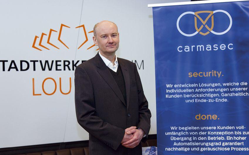 Carsten Marmulla - Mitorganisator und  Aussteller mit carmasec Ltd. & Co. KG