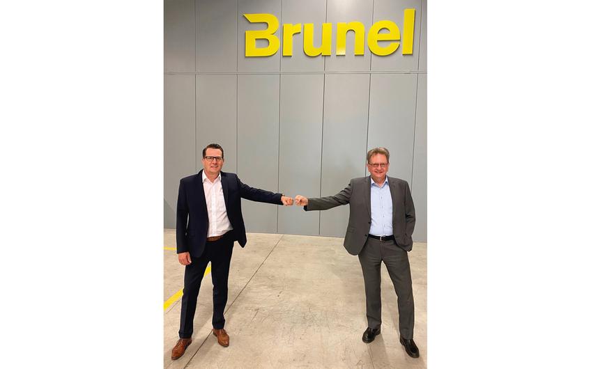 Carsten Wendt (li.) übernimmt die Verantwortung und Führung von Brunel Car Synergies in Dortmund von Peter Bolz