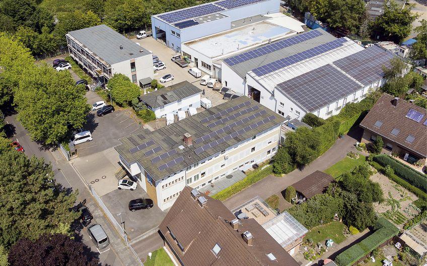 Hauptsitz der Unternehmensgruppe in Siegburg