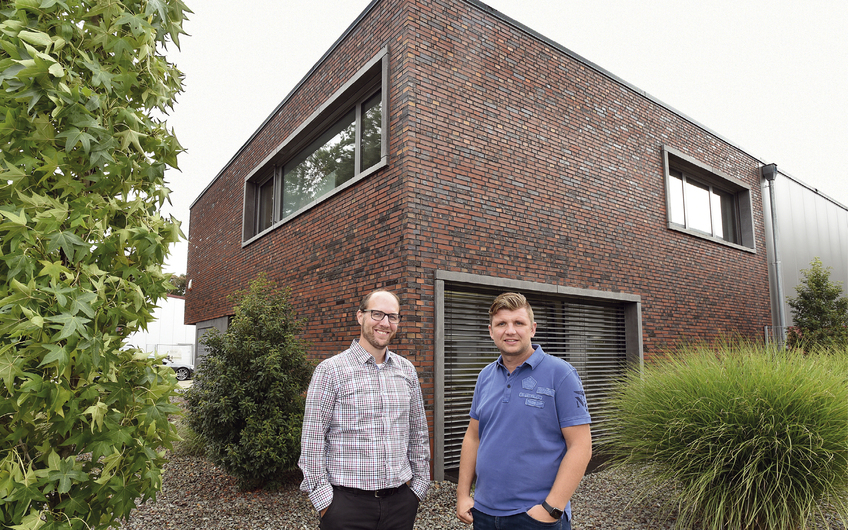 Geschäftsführung Marco Weeverink und Lars Dönnebrink v.l. (Foto: Gerd Lorenzen Essen)