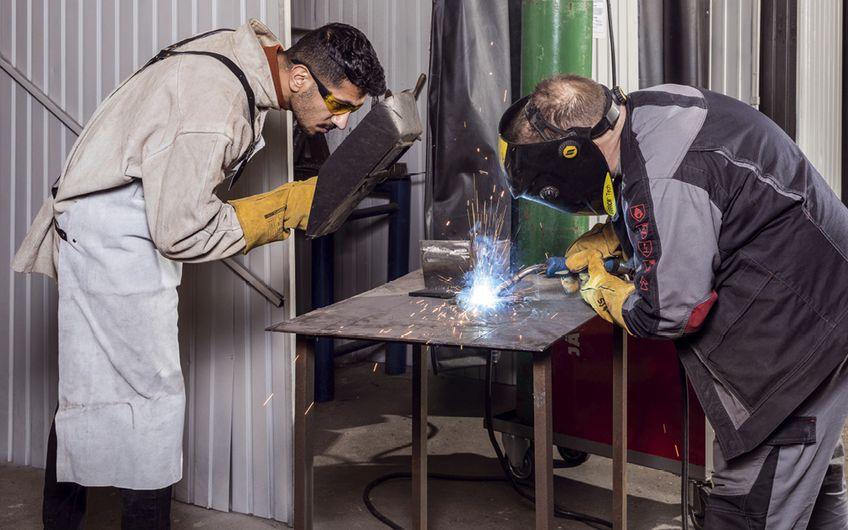 Arbeitskräfte werden geprüft und geschult, bevor sie den Kunden von den Disponenten angeboten werden. (Foto: Dimitrie Harder)