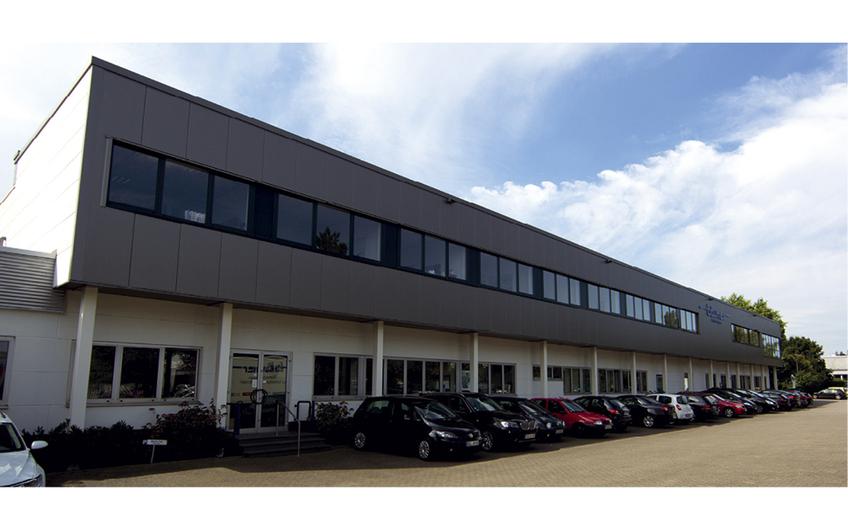 Der Firmensitz in Tönisvorst (Foto: Christian Bäumer)