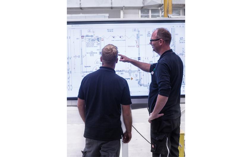 Die digitalen Prozesse in der Modulproduktion tragen wesentlich zur Fehlervermeidung und zum hohen Qualitätsniveau der Gebäude bei