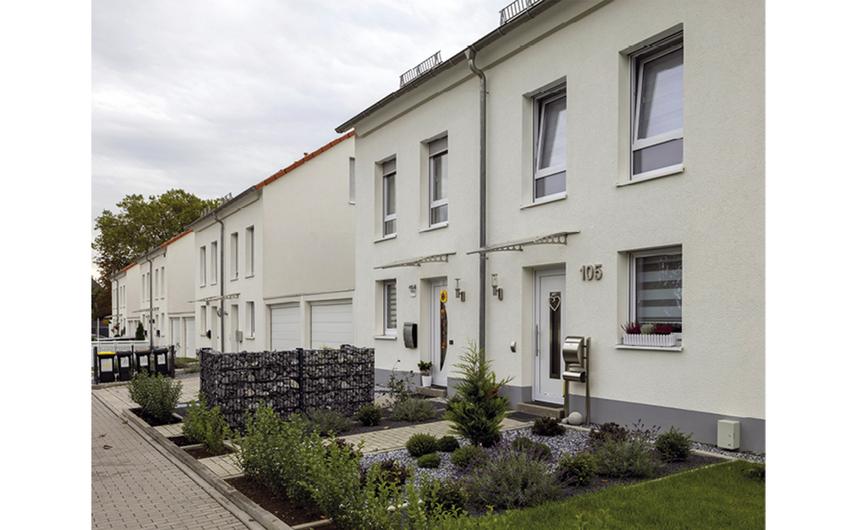 Das neue Wohngebiet auf dem ehemaligen Zechensportplatz  (Foto: Thomas  Stachelhaus)