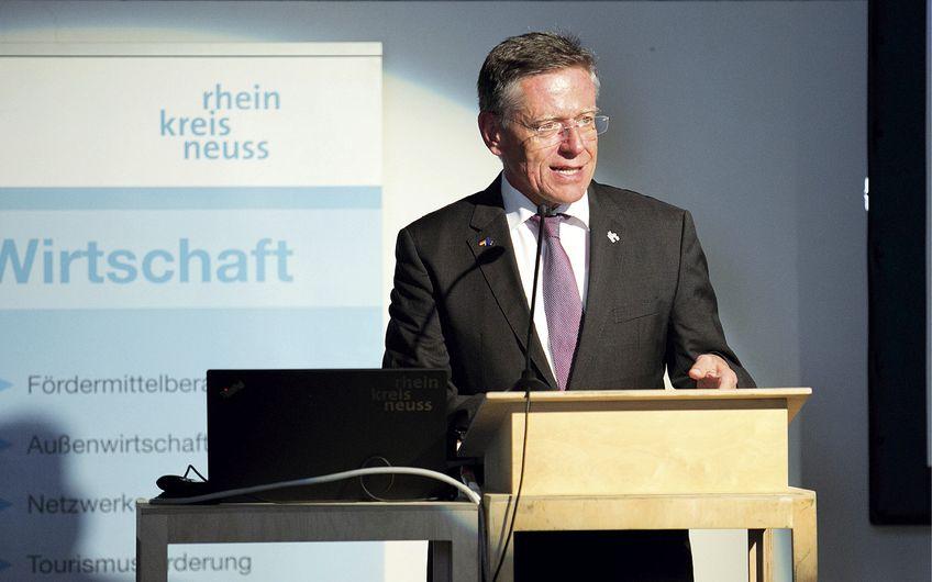 Rhein-Kreis Neuss: Interview mit Landrat Hans-Jürgen Petrauschke zum Thema Digitalisierung und Strukturwandel