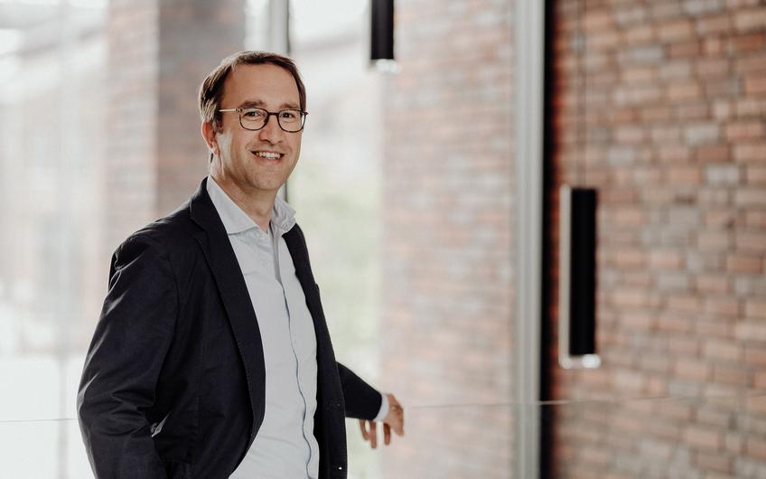 Christoph Helbich, geschäftsführender Gesellschafter der SHA Scheffler Helbich Architekten GmbH (Foto: gesche_schmidt)