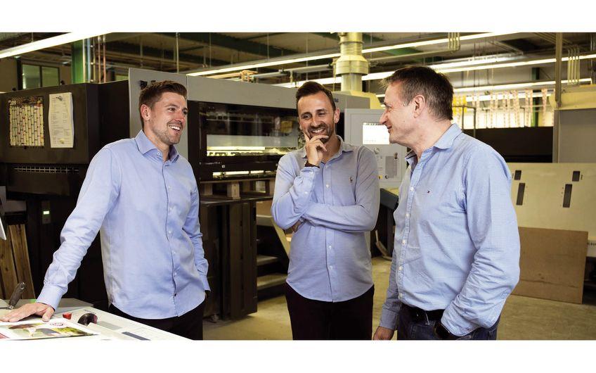 Geschäftsführer Christoph Steffen, Verkaufsleiter Dennis  Weinsheimer und Geschäftsführer Norbert Schnichels (v.l.) (Foto: Wort & Lichtbild)