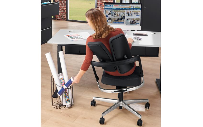 Der duoBACK DV für dynamisches Sitzen