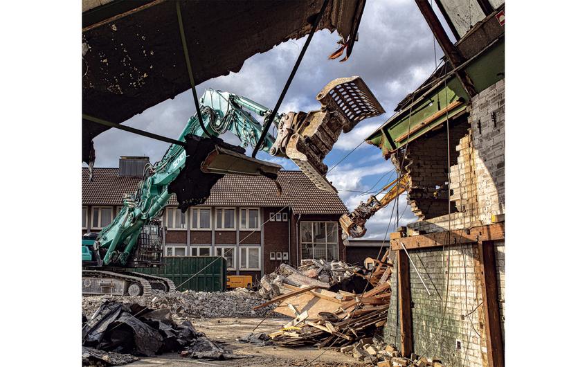Rückbau einer Gießerei (Foto: Wort & Lichtbild)
