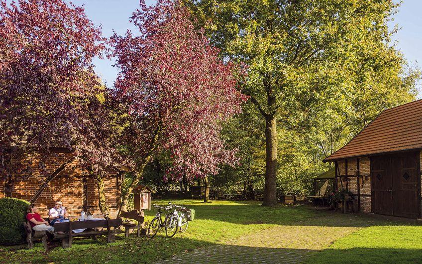 Das Picknick spiegelt im Münsterland  ein Stück des Lebensgefühls wider (Foto: Münsterland e.V./F. Scheytt & M. Duschner)