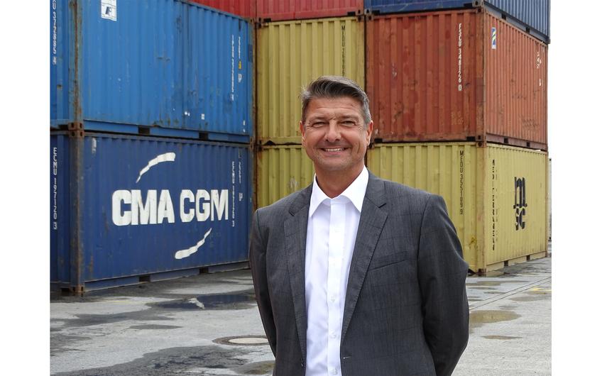 Andreas Stolte ist Geschäftsführer der Deltaport Niederrheinhäfen