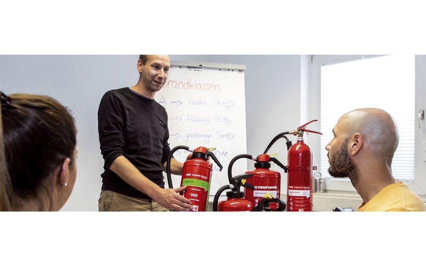 AGIS Industrie Service: Brandschutz muss sein