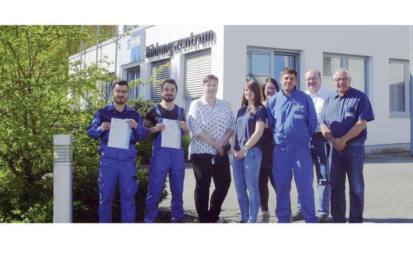 Schubert Maschinen- und Anlagenbau: Die Auszubildenden im Blick
