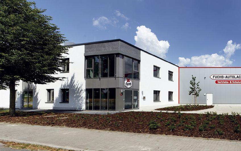 Die Fuchs Autolack-Service-Vertriebs-GmbH hat erst vor Kurzem offiziell eröffnet