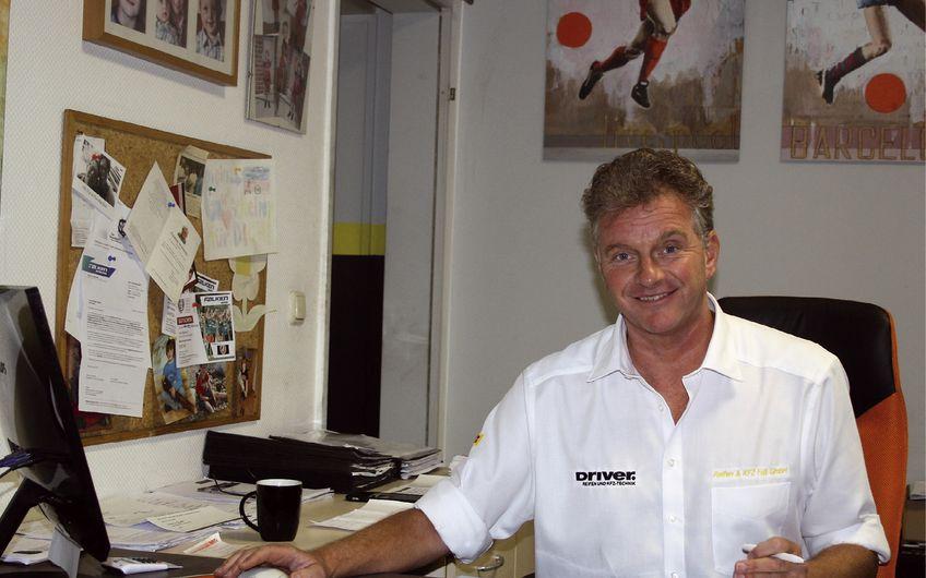 Geschäftsführer Markus Fuß wagte 2002 den Sprung in die Selbstständigkeit und eröffnete die Reifen & KFZ Service Fuß GmbH (Foto: Bianca Treffer)