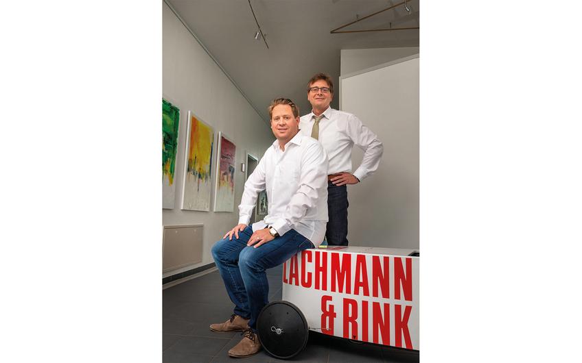 """Lachmann & Rink: """"Ihr Partner  für smarte Industrie-Lösungen"""""""