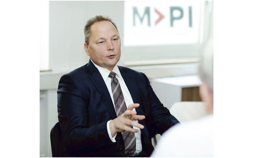 MPI-Geschäftsführer Ulrich Munkert Foto: Jacqueline Wardeski
