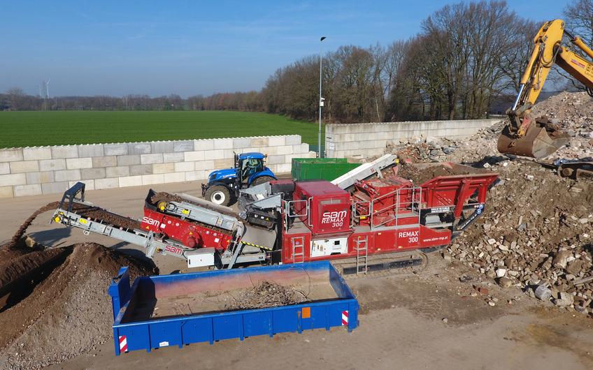 Ein Youngster im Omexom-Netzwerk ist die 2012 gegründete Omexom Transport & Recycling GmbH