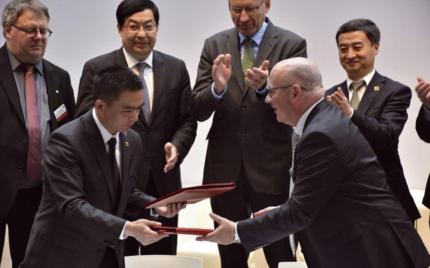 Bergische Struktur- und Wirtschaftsförderungsgesellschaft: Deutsch-Chinesische  Automotive-Allianz