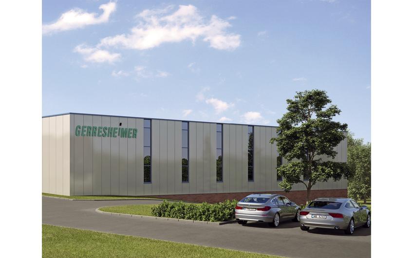 Gerresheimer: Lager- und Produktionshalle mit Reinraumtechnik in Bünde