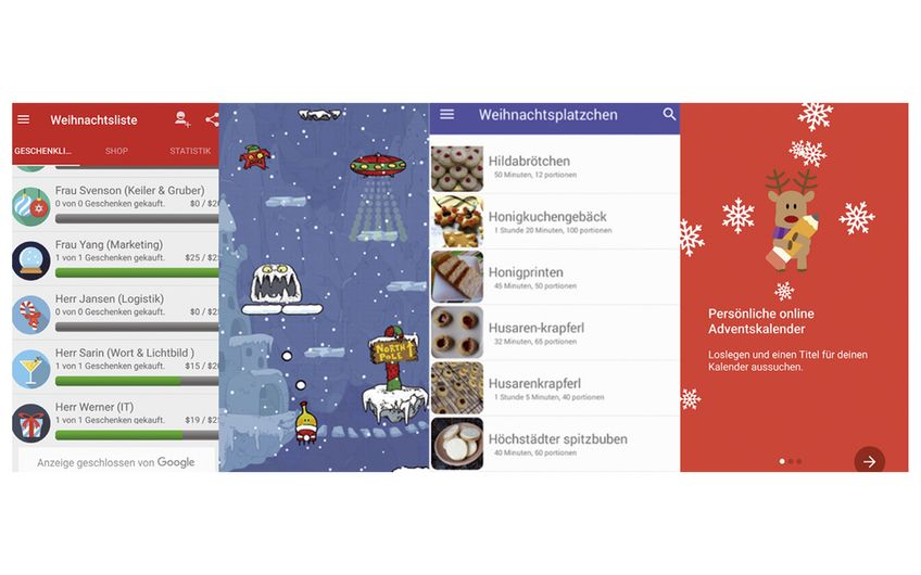 Manager-Apps: Weihnachts-Special