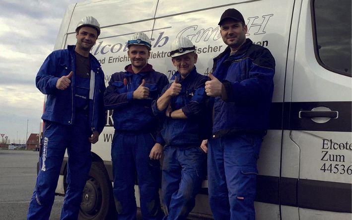 Rund 120 erfahrene Fachleute sind für die Elcotech GmbH im Inland sowie im europäischen Ausland tätig Foto: Elcotech GmbH