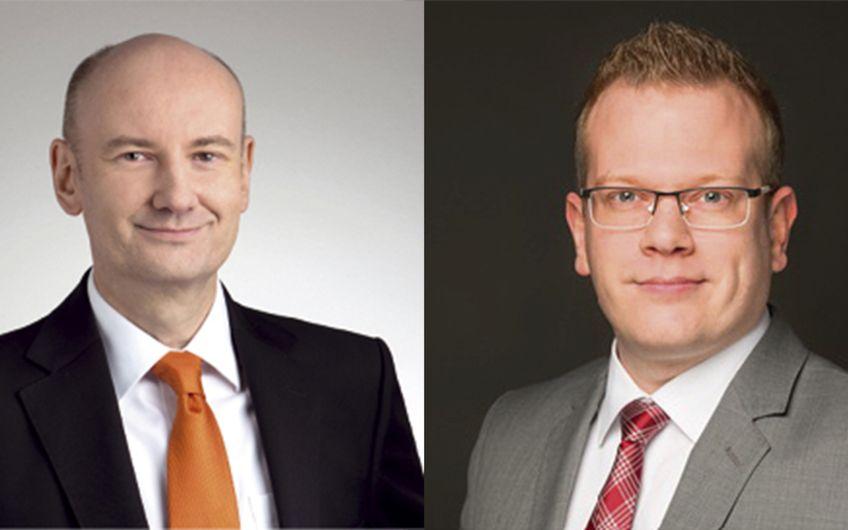 Carsten Marmulla & Stefan Sander (v.l.), Kompetenz- gruppe Informationssicherheit des networker NRW e.V. Diese informiert Sie gerne detailliert und beantwortet Ihre Fragen unter: sicherheit@networker.nrw