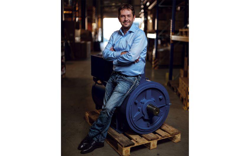 Geschäftsführer Dirk Joswig (Foto: Jakob Studnar)