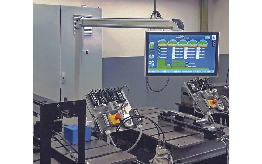si-automation plant, realisiert und betreut die Automatisierung modernster industrieller Spannsysteme und -anlagen aus dem Hause Hilma-Römheld. (Foto: Hilma-Römheld)